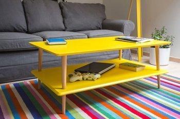 KORO LOW Coffee Table 110x70cm - Yellow