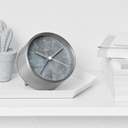 Structure Alarm Clock - Cement
