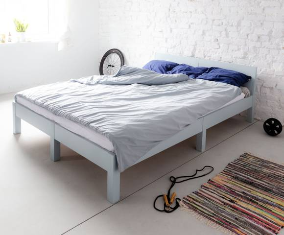 DABI Bed W 160cm x L 200 cm / Yellow