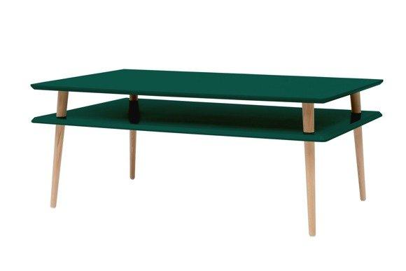 KORO HIGH Coffee Table 110x70cm - Bottle Green