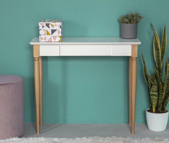 MAMO Writing Desk 105x40cm - White