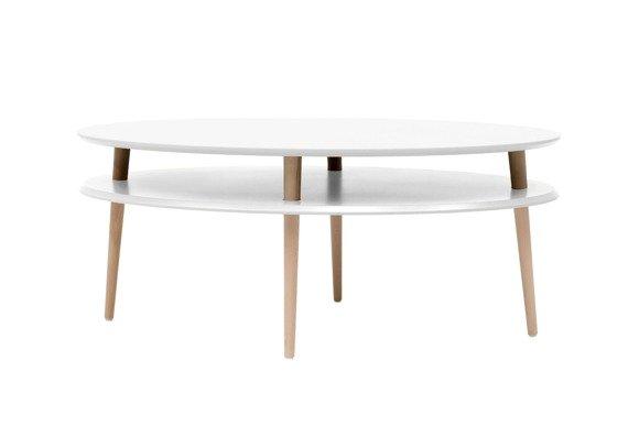 OVO high Coffee Table W 110 x D 70cm - White