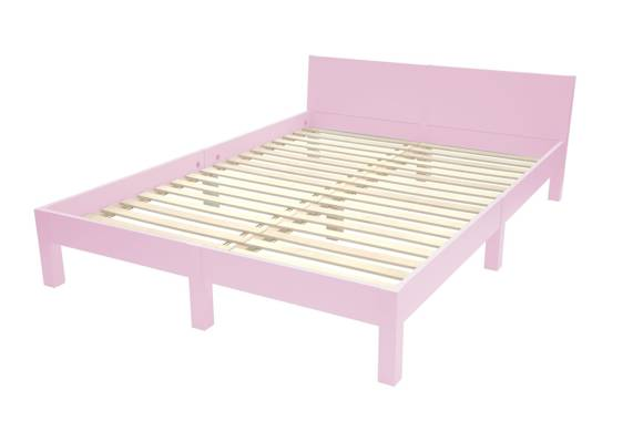 DABI Bett 160 cm x L 220 cm | Rosa