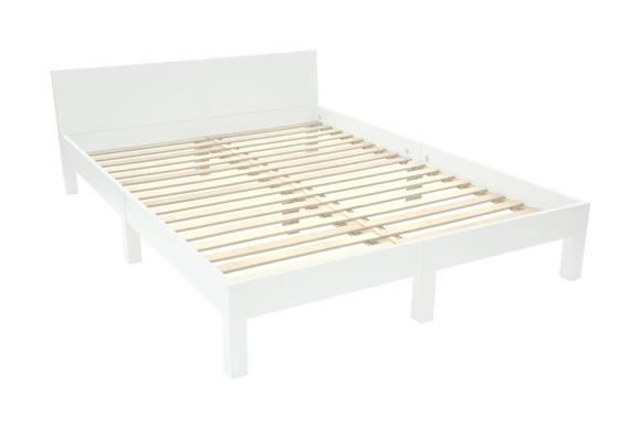 DABI Bett B 140 cm x L 200 cm / Weiß