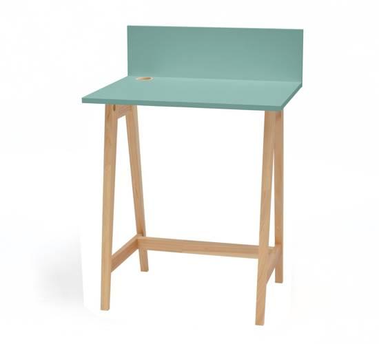 Luka Eschenholz Schreibtisch 65x50cm / Minze