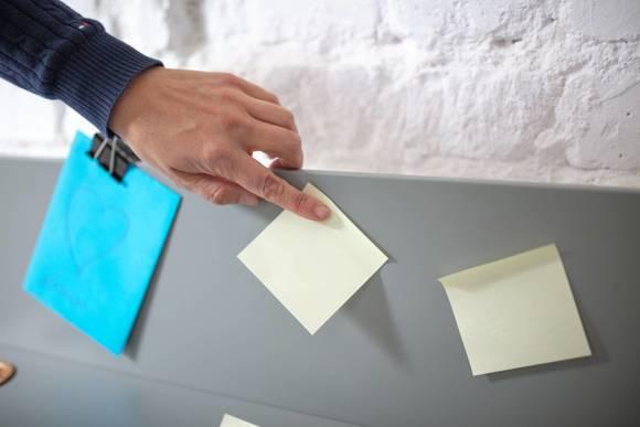 Luka Schreibtisch 65x50cm Eiche / Petrol Blue