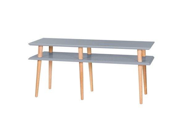 MUGO Sideboard 119x40x45 - Dunkelgrau