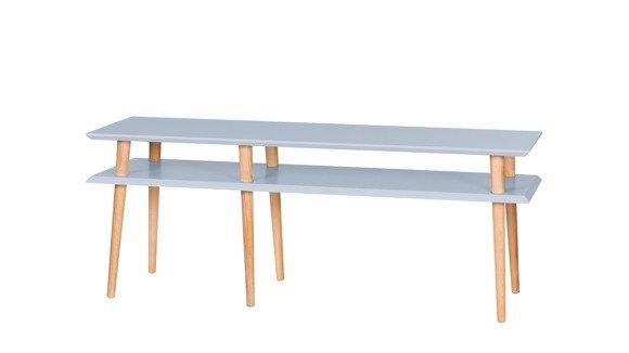 MUGO Sideboard 139x40x45 - Hellgrau