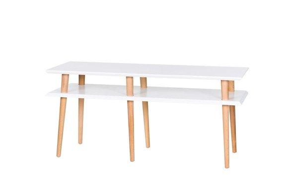 MUGO Sideboard Breite 119x40x45cm - Weiß